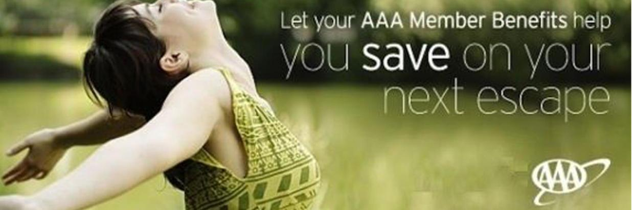 Show us your AAA card and Save!