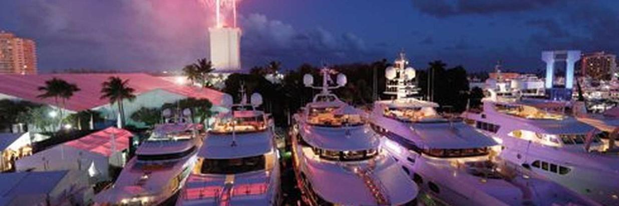The Miami International Boat Show