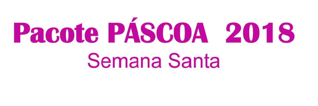 Pacote Páscoa 2018