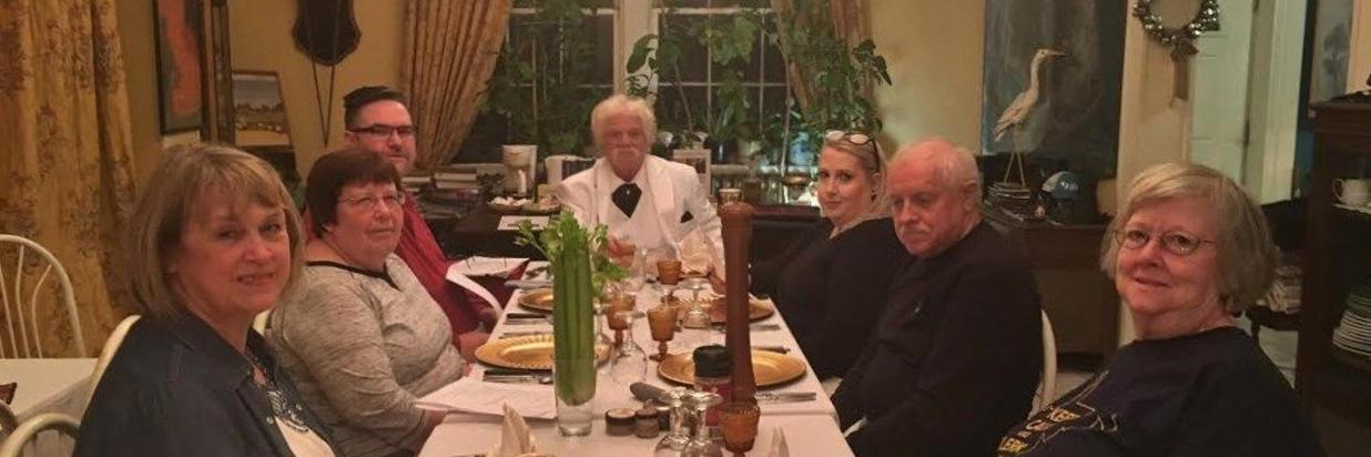 Sept. 14-16: Mark Twain/Stonewall Jackson History Dinner Theatre Weekend