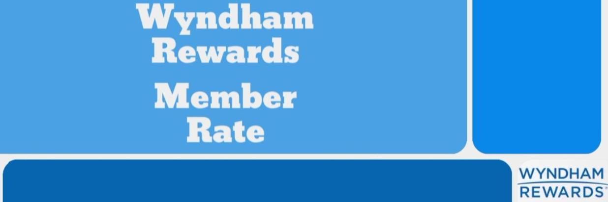 Wyndham Rewards Member Rate