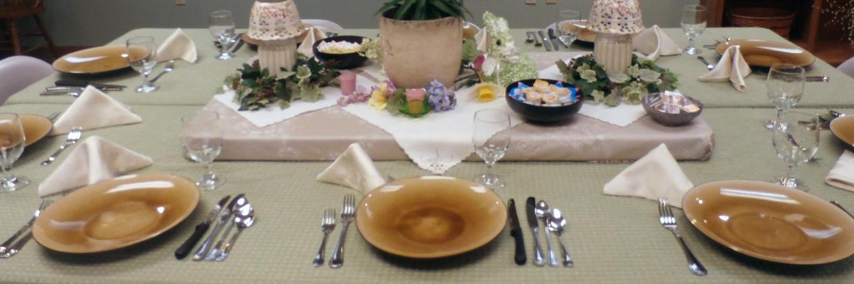 Easter Dining in Brown County