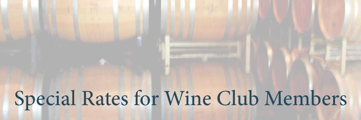 Wine Club Member Discount