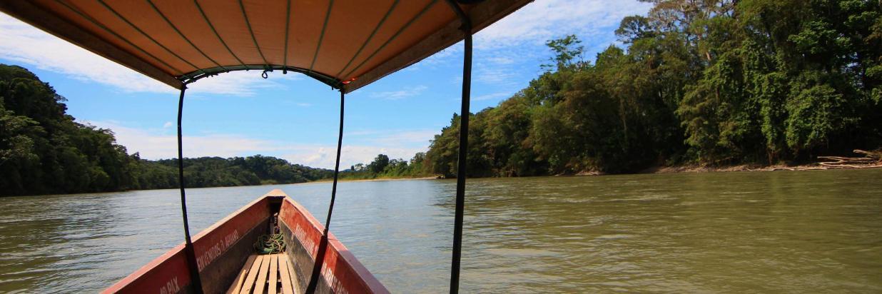 Amazoonico Animal Rescue Center by canoe from Suchipakari (3).jpg