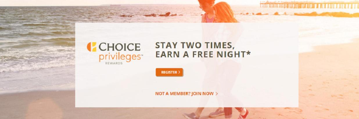 Stay Twice and Earn a Free Night
