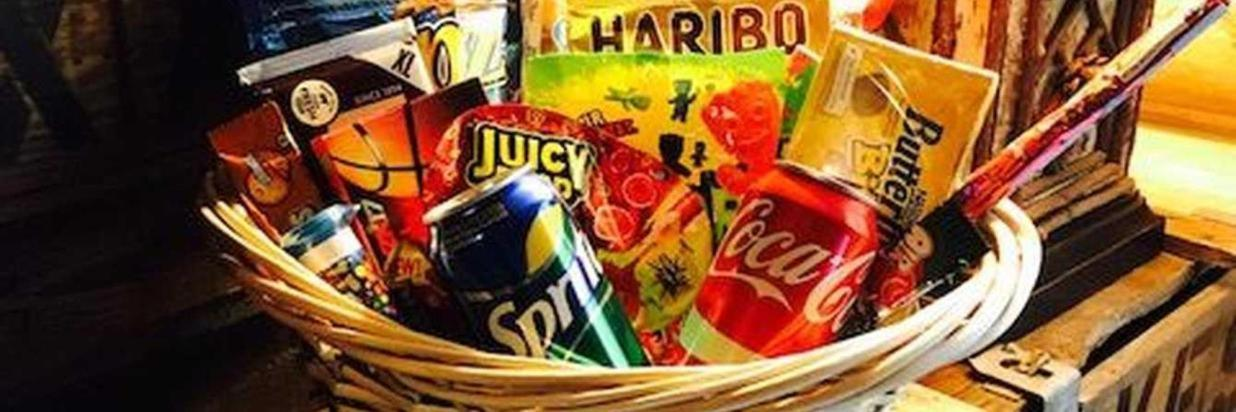 Sweets for My Sweetheart Basket