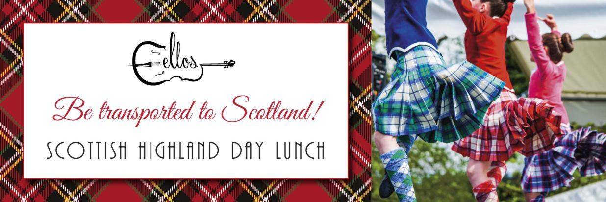 Scottish Highland Day Lunch