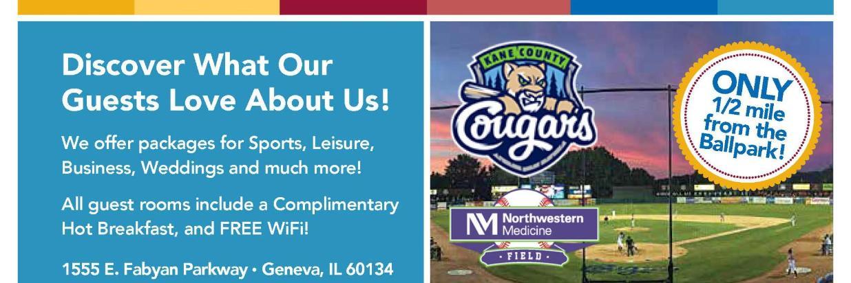 Kane County Cougars @ Northwestern Medicine Field 2018 Sponsor Hotel