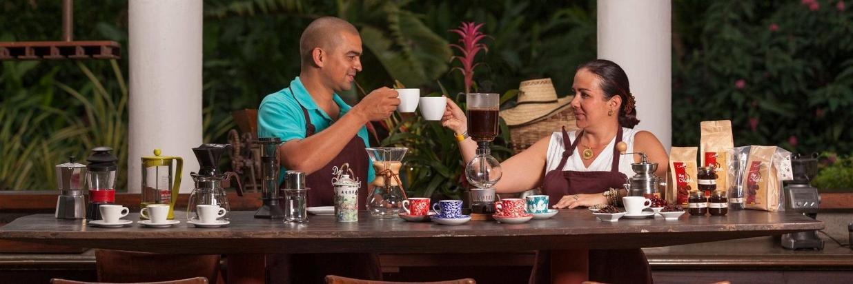 Cata de café Don Manolo