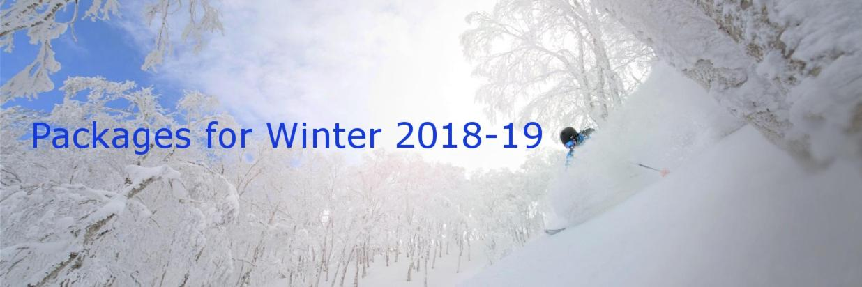 Packages for Winter 2018-19
