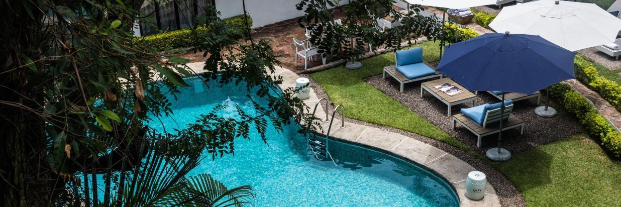 Hotel Boutique Las Casas B+B en Cuernavaca. Gay Friendly Hotel Con Alberca Y Pool Service