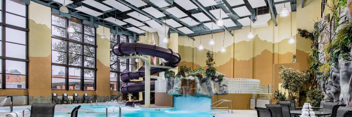 Indoor Water Park 2.5-storey Slide