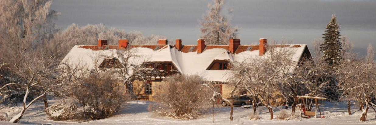 Karlamuiza Coutry Hotel in winter