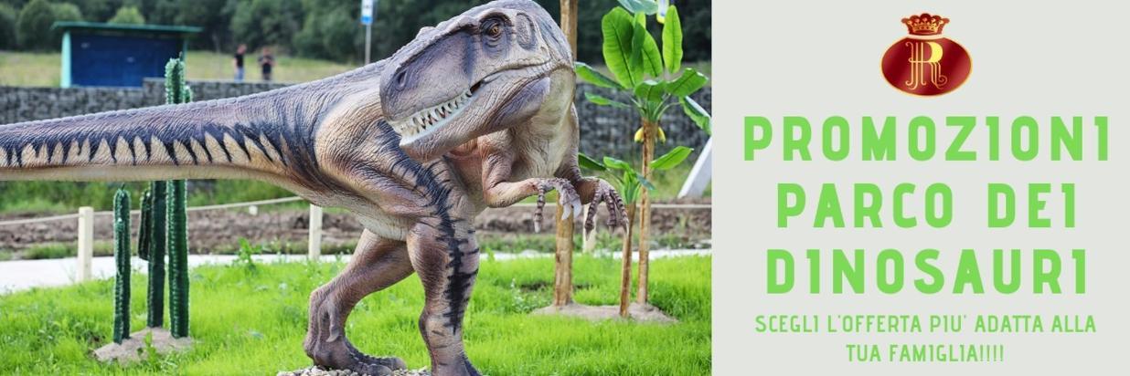 Promotion du parc des dinosaures