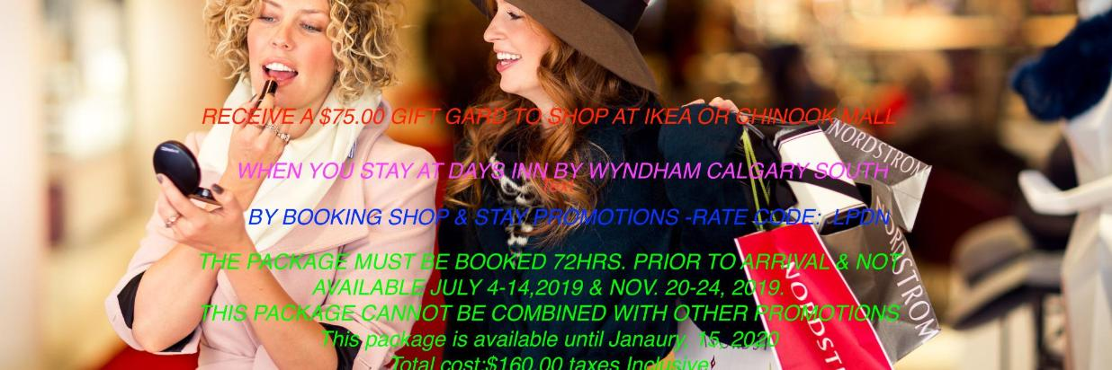 Promotion Shop & Stay