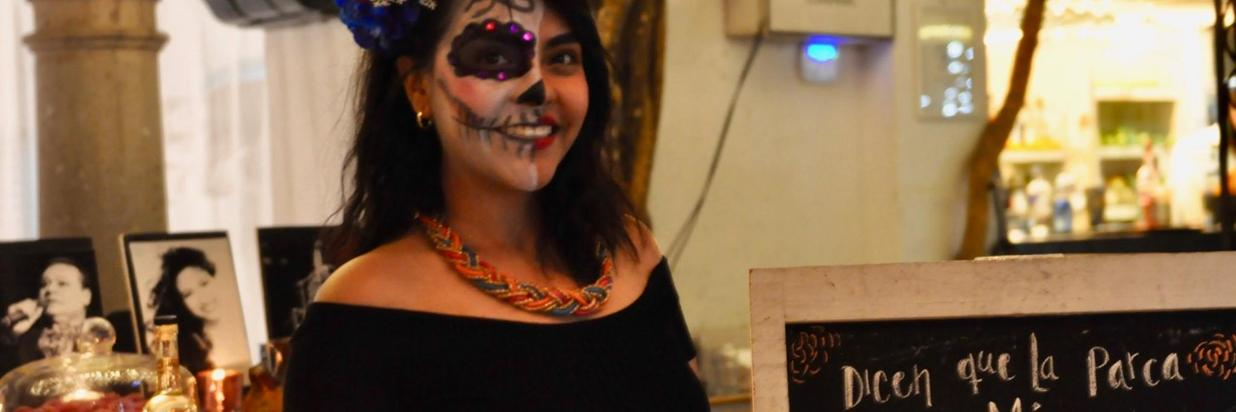 Day of the Dead Dinner at House Restaurant Cuernavaca, Morelos