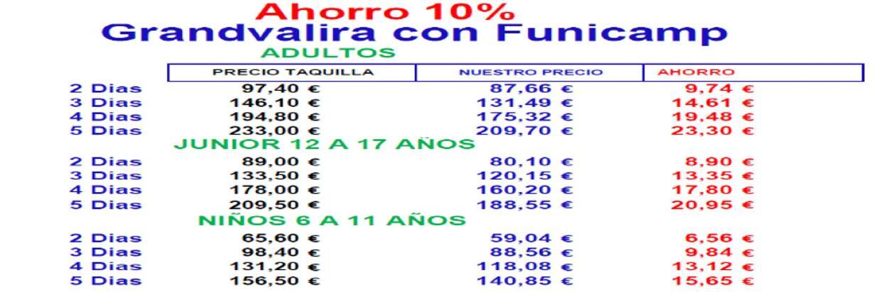 Grandvalira discount