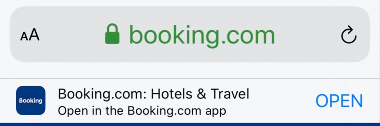10% MOBILE DISCOUNT bei Booking.com