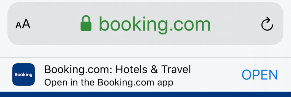 10% MOBILE DISCOUNT @ Booking.com