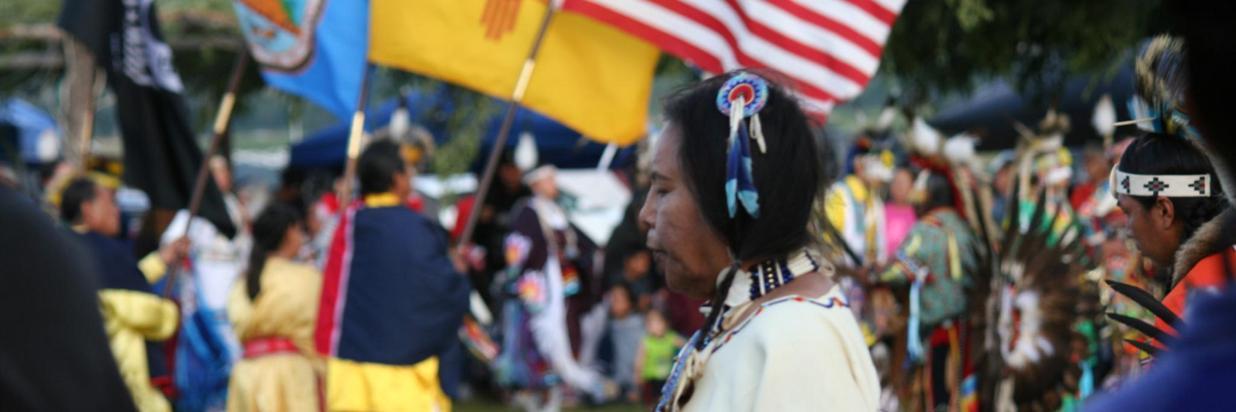 The annual Taos Pow Wow at Taos Pueblo