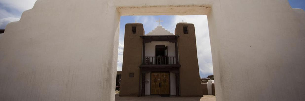 The church at Taos Pueblo
