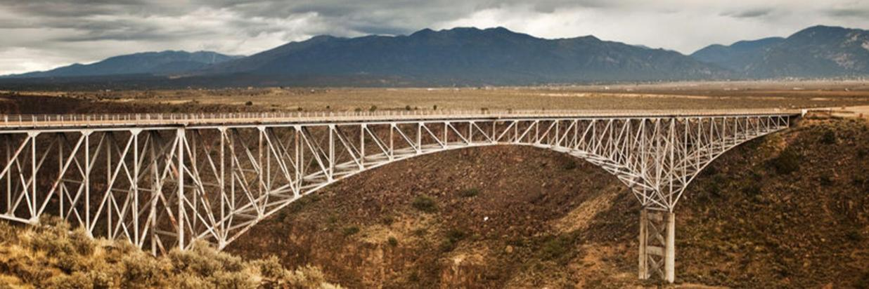 Arch Bridge over the Rio Grande