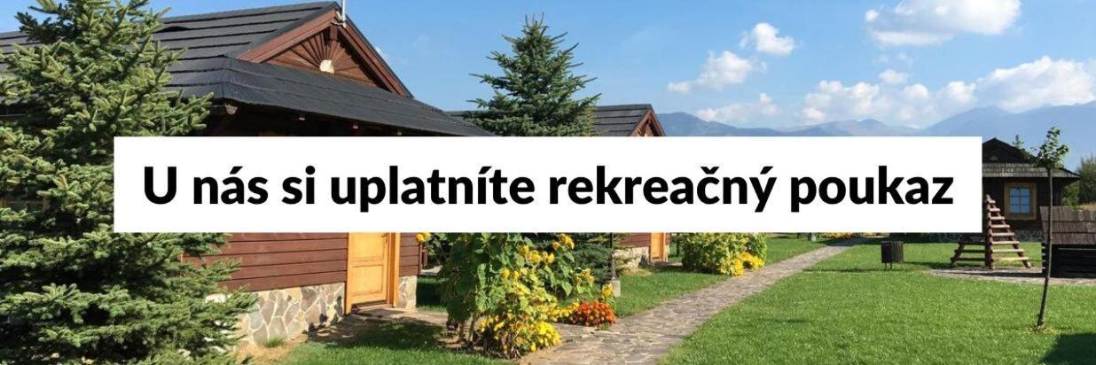 Rekreačný poukaz - Tatralandia chatky