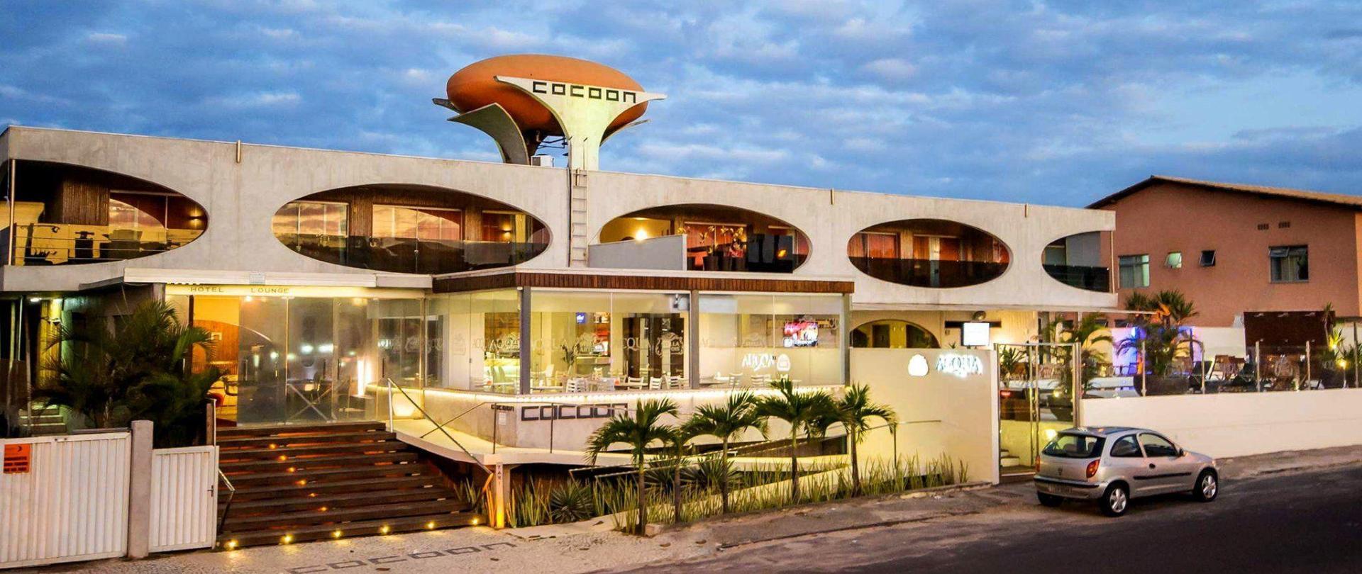 Cocoon Hotel Lounge Salvador Brasilien
