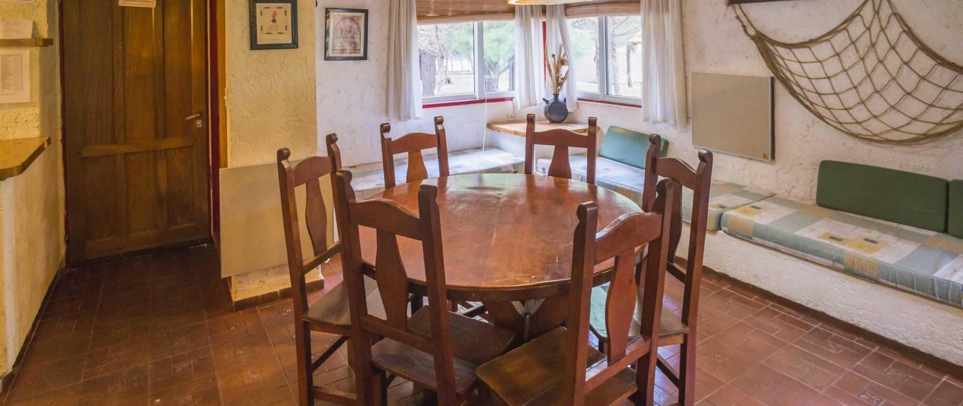 Sitting room of a cabin at Cabañas Del Pastizal, Uspallata, Mendoza Province, Argentina-2