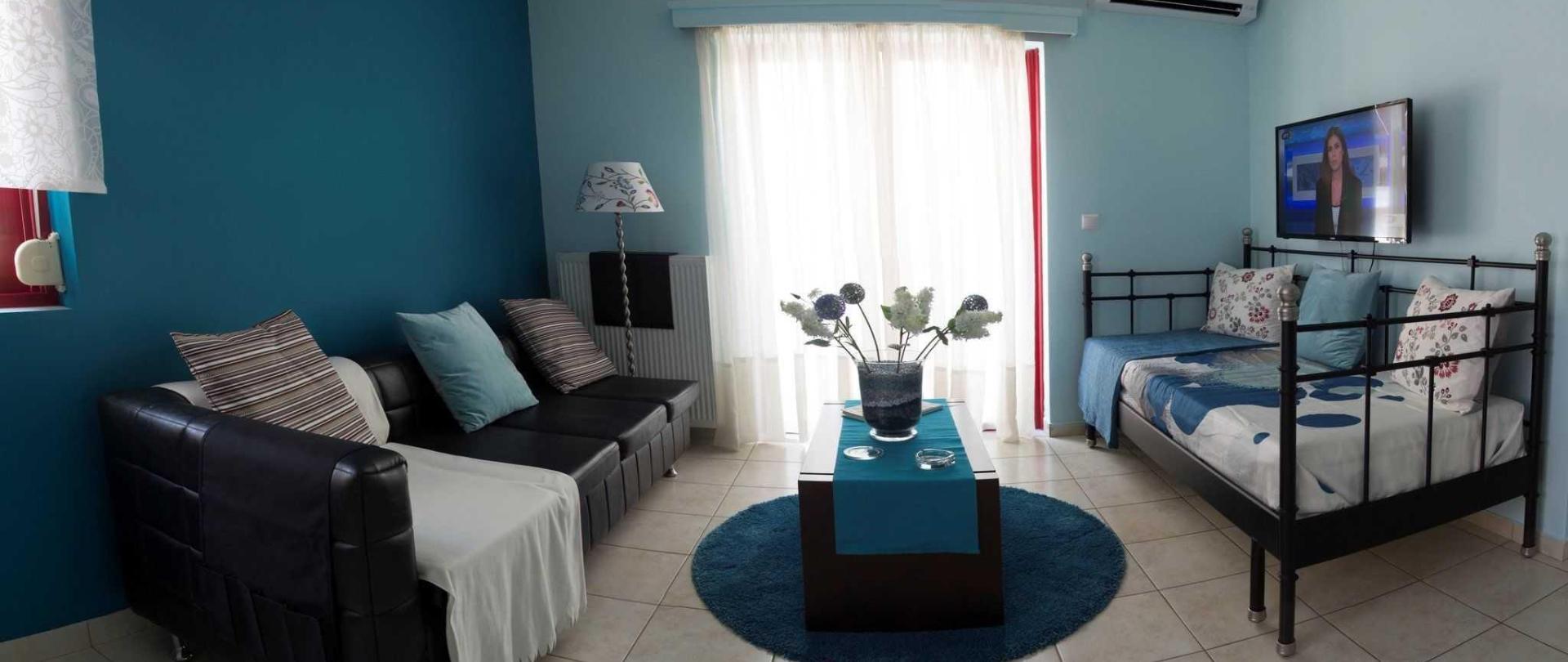 Hydrangea Flat, Living Room