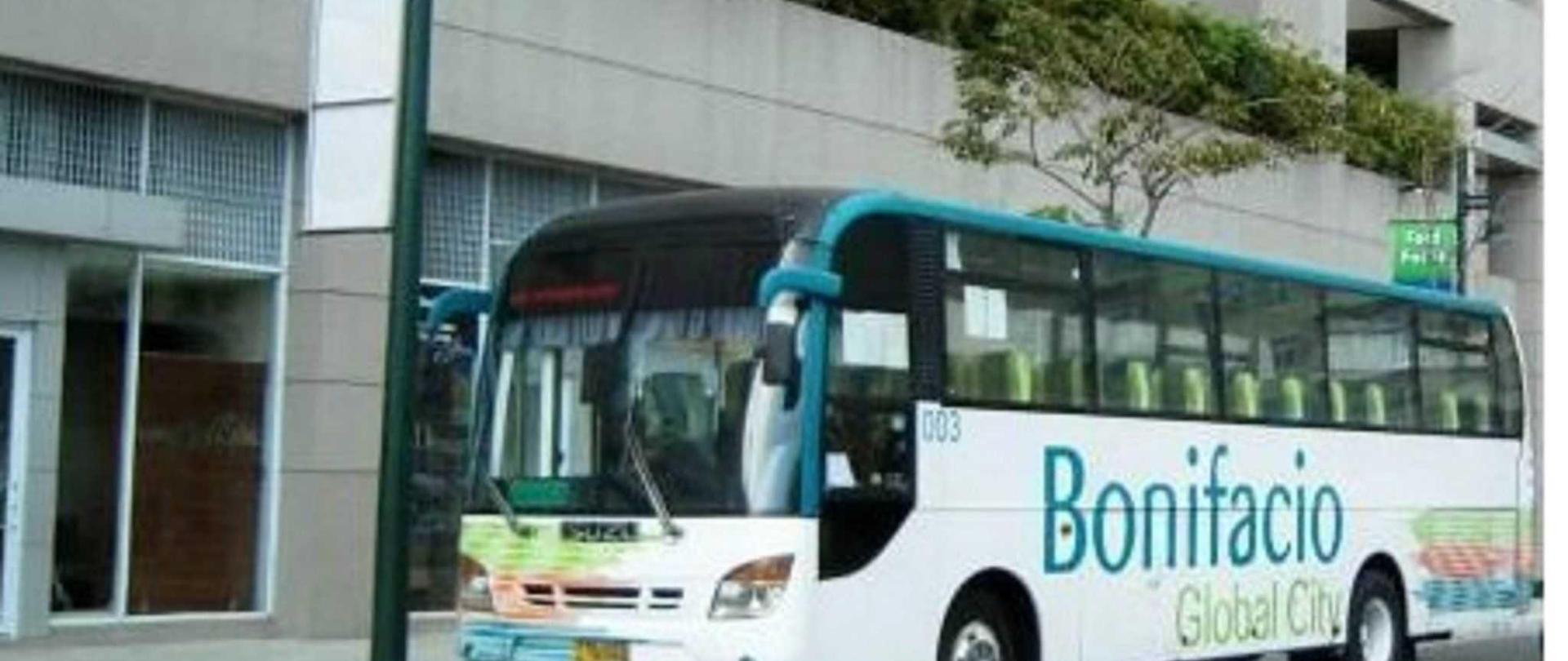 BGC Bus stops outside Avant