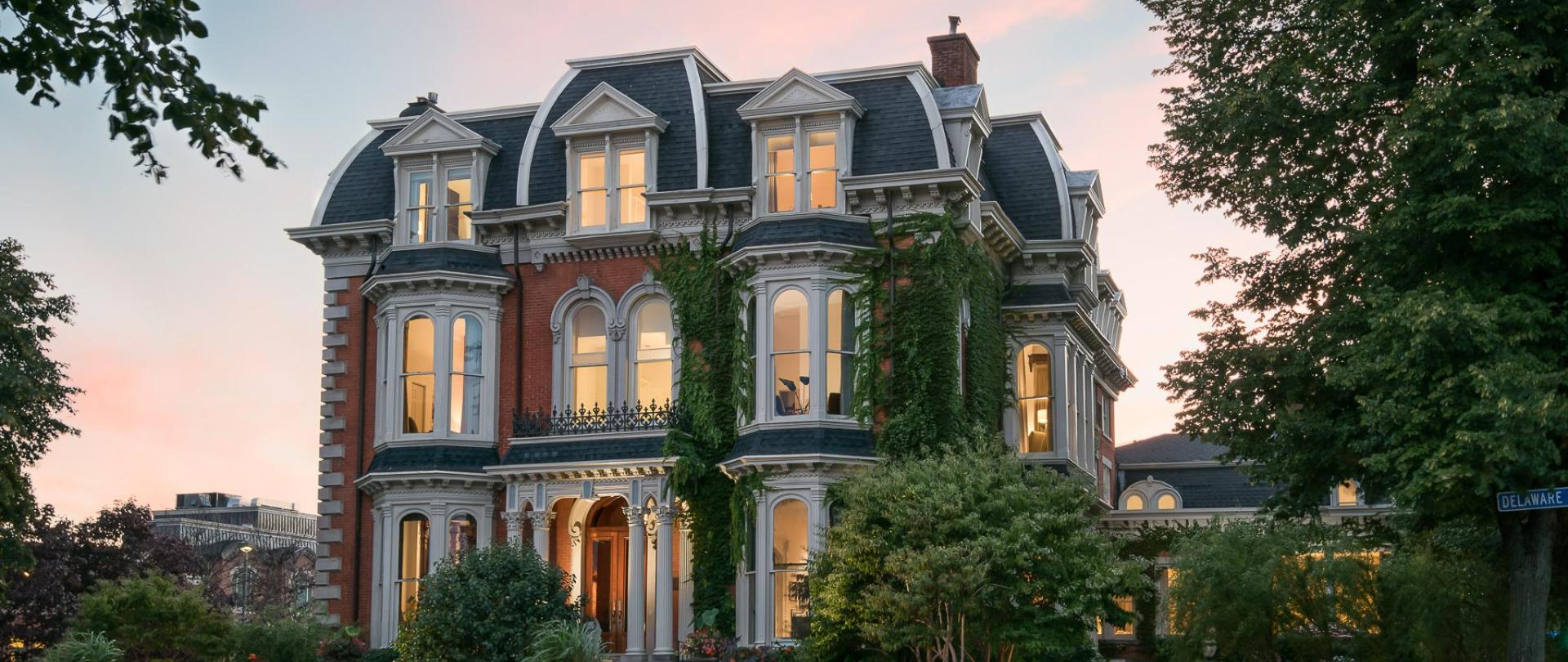 Buffalo S Luxury Hotel Wedding Venue The Mansion On Delaware Ave