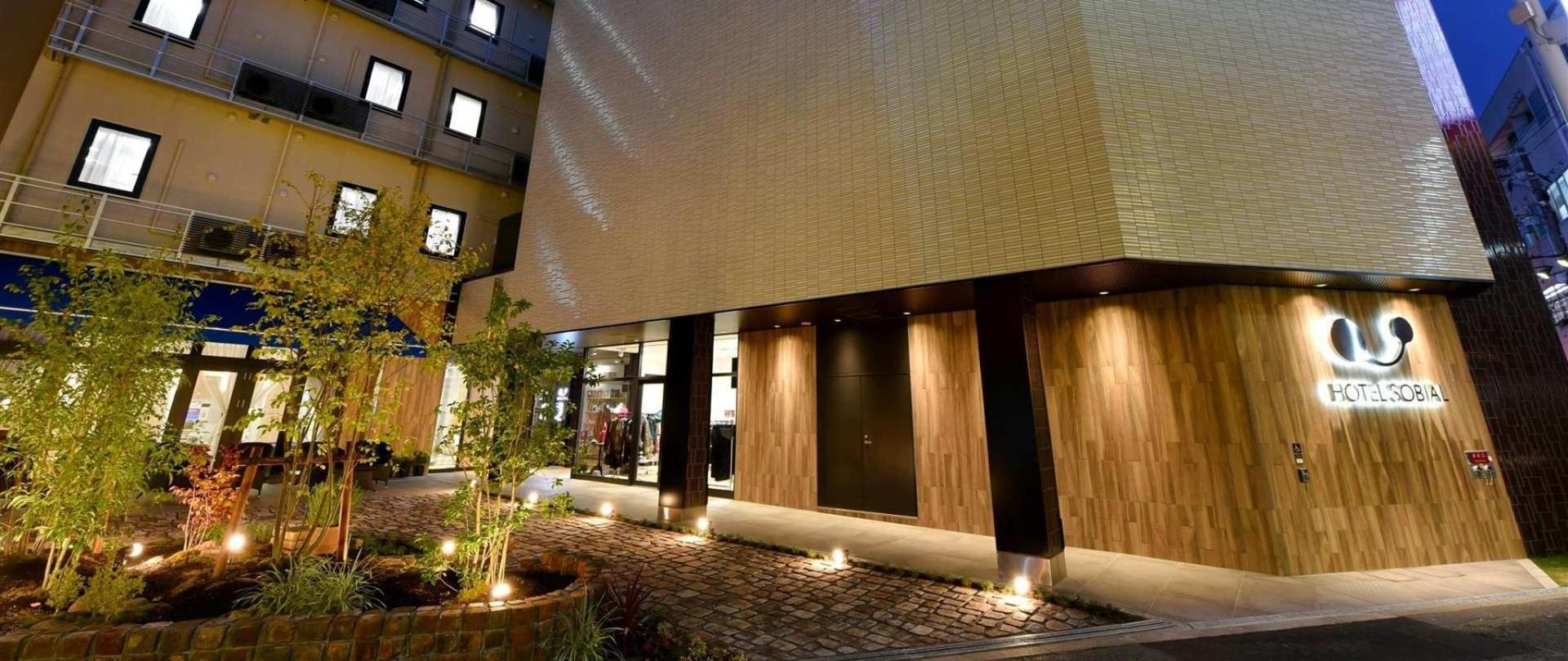酒店Sobial大阪