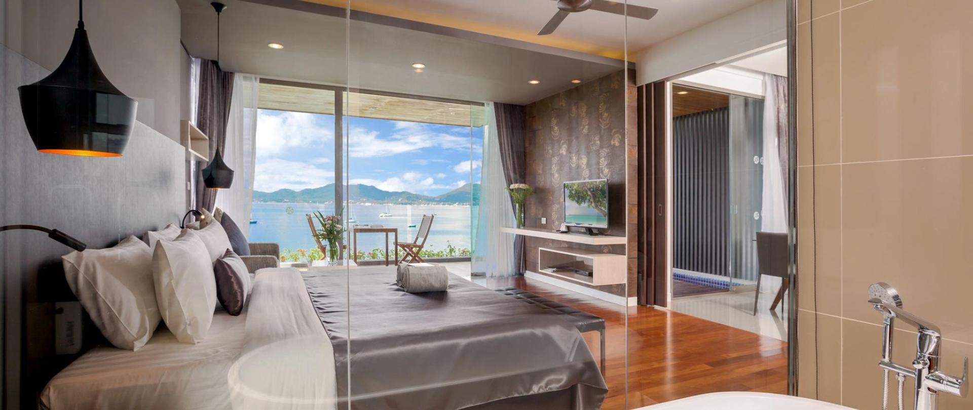 Suites X10 Seaview à la plage de Panwa
