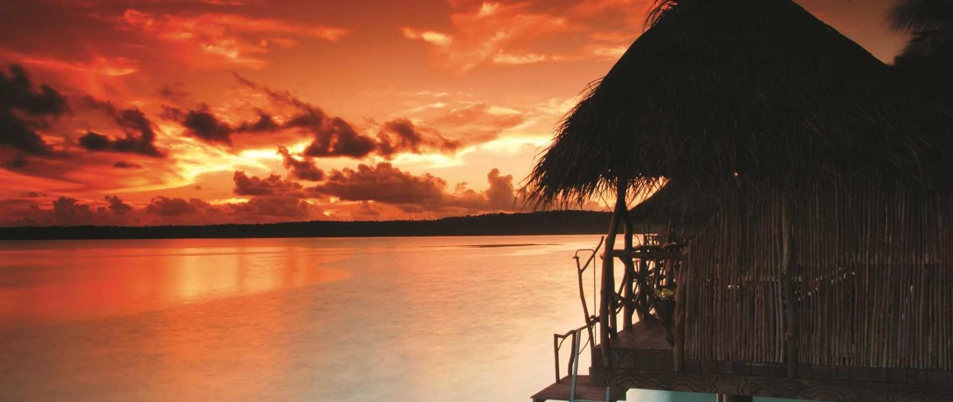 Спа-курорт Aitutaki Lagoon Resort & Spa