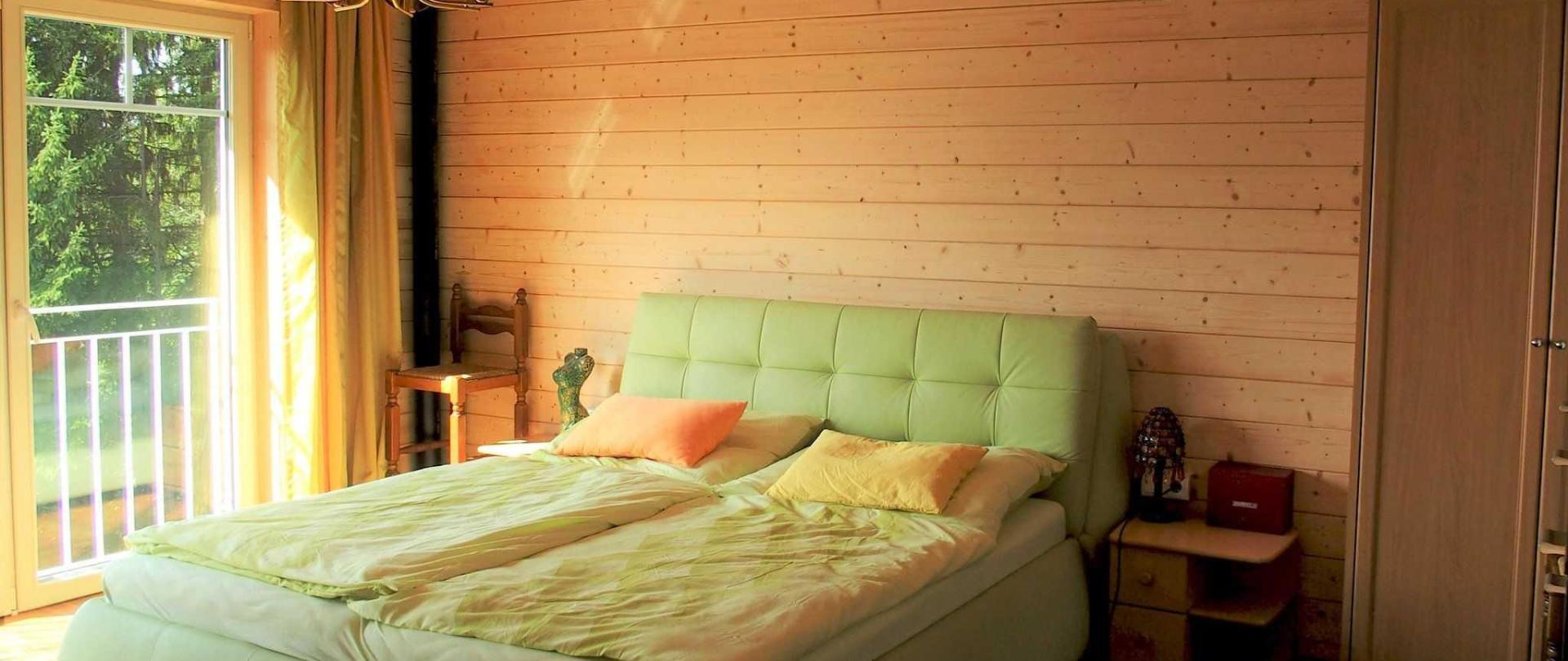 25 m2 großes Schlafzimmer