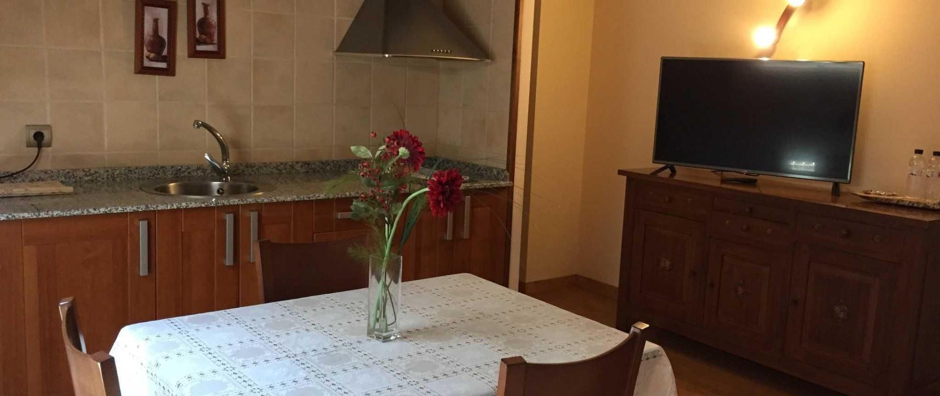 Cocina - salón atico 202