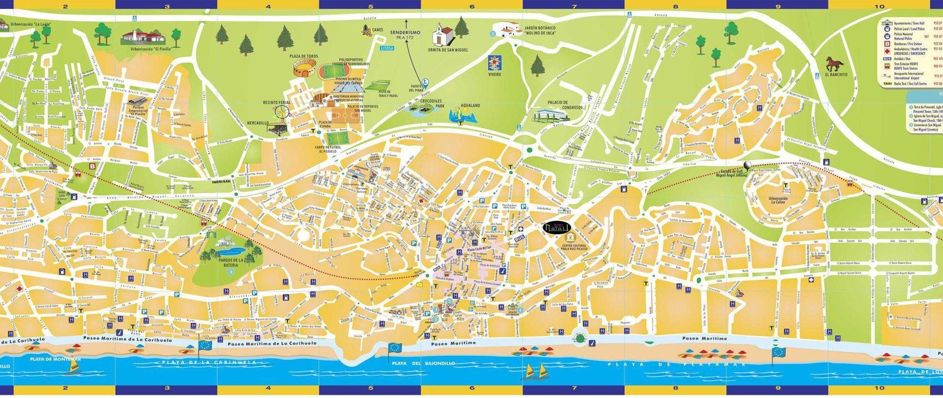 torremolinos karta Hotel Natali   Torremolinos   Spain torremolinos karta