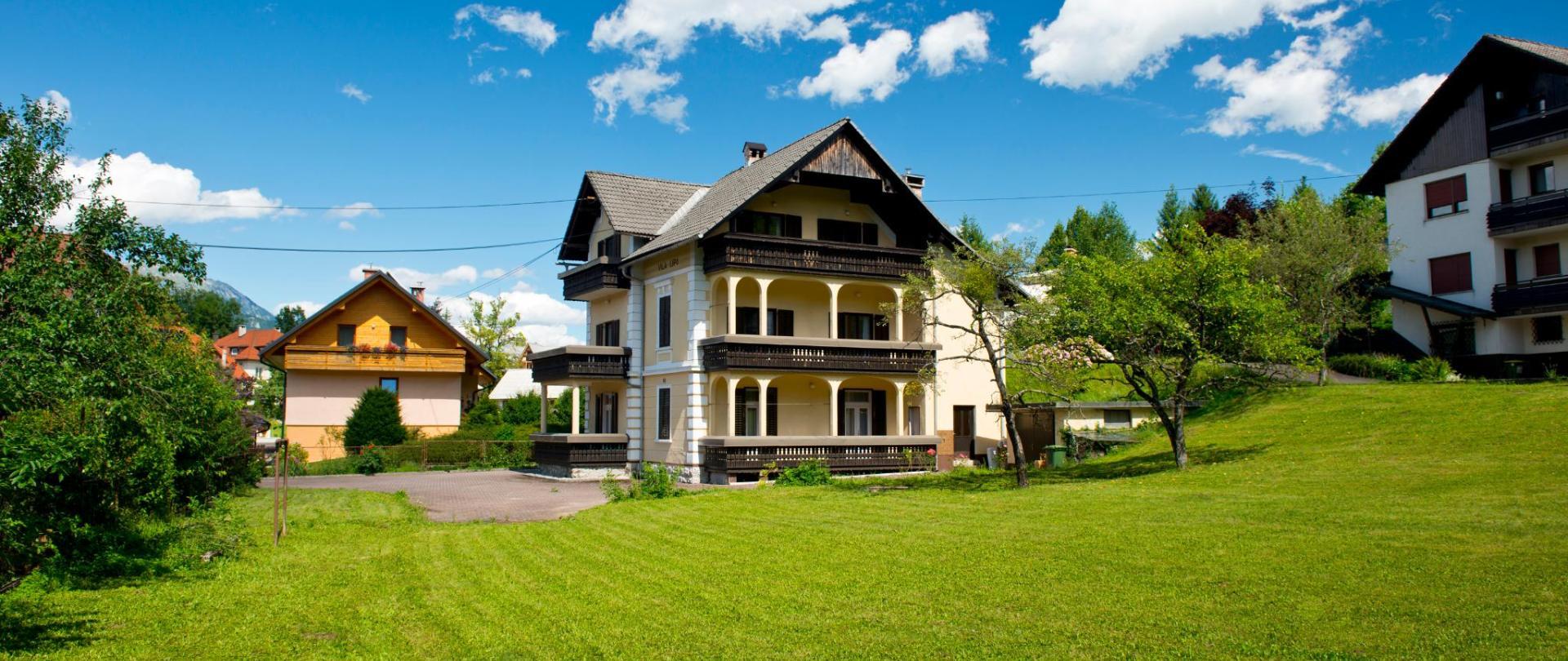 Vila Lipa - notre beau jardin