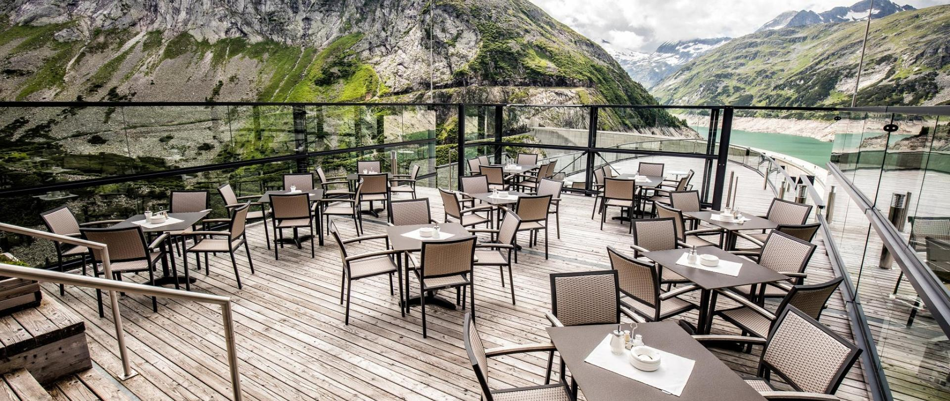Hochalm restaurant with panoramic terrace