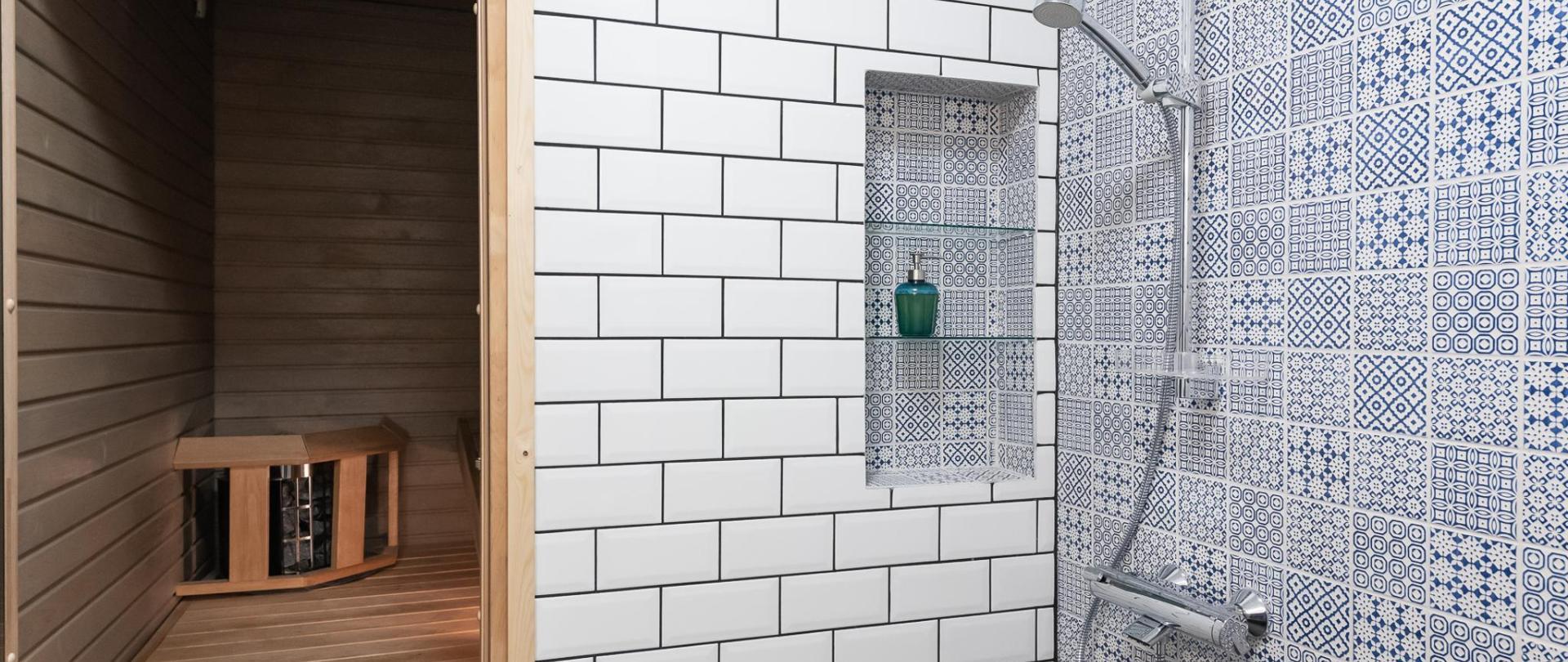 Sauna ja kylpyhuone