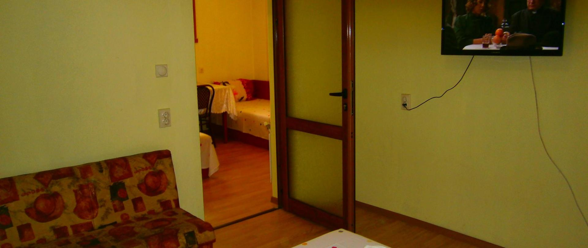 værelser i en lejlighed