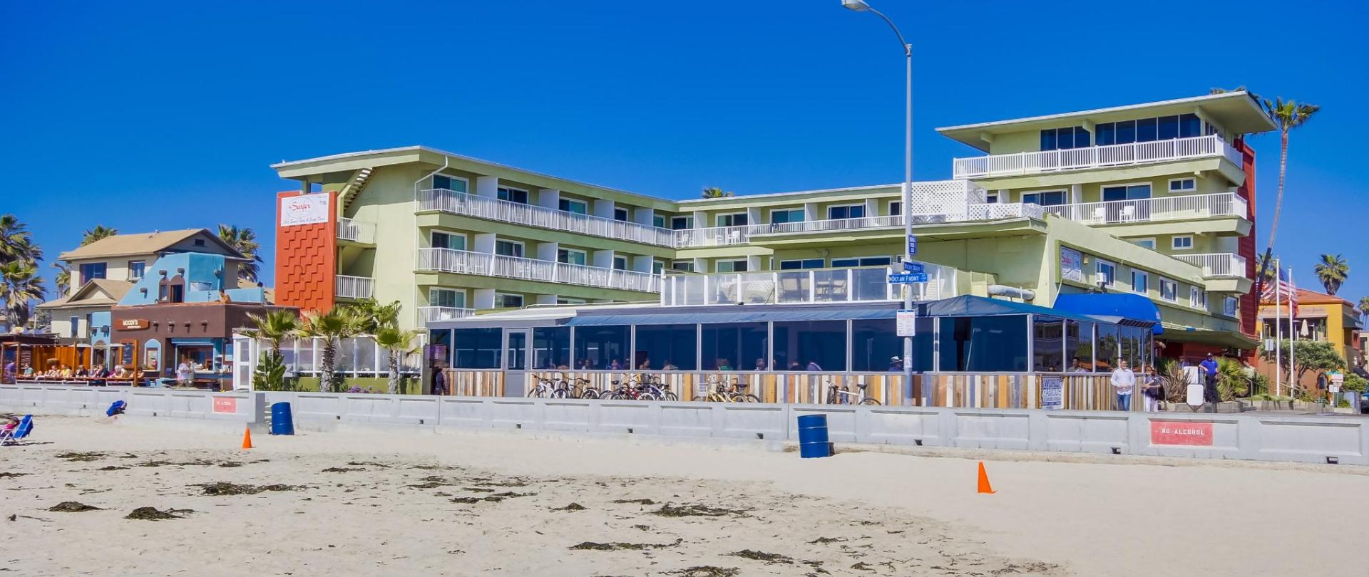 Surfer beach hotel san diego