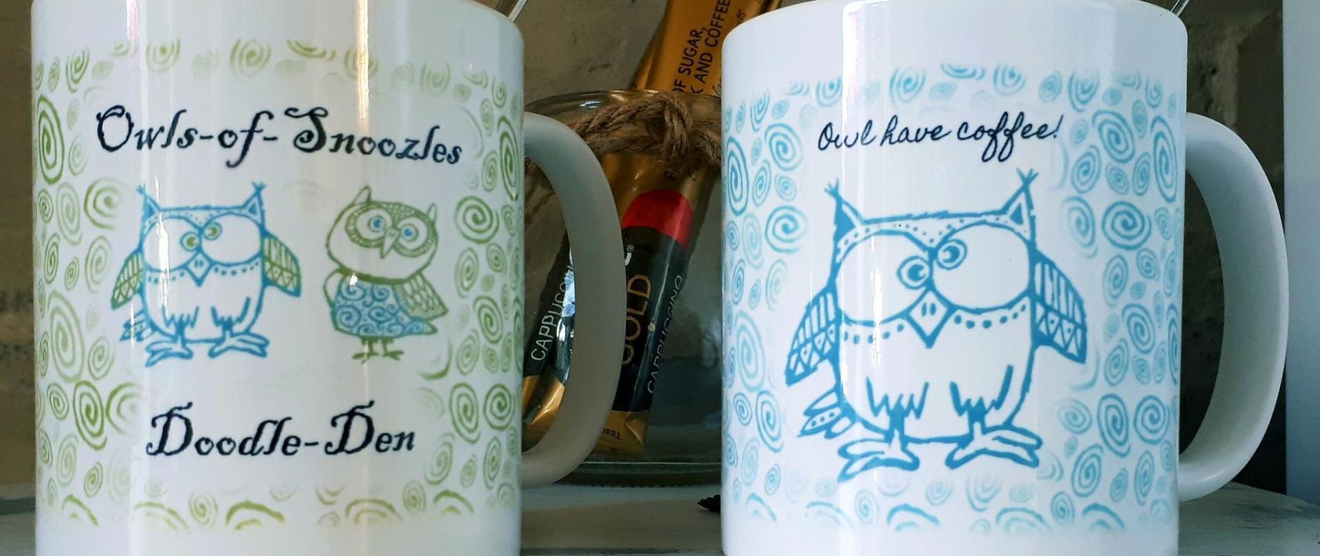 Custom made coffee mugs!