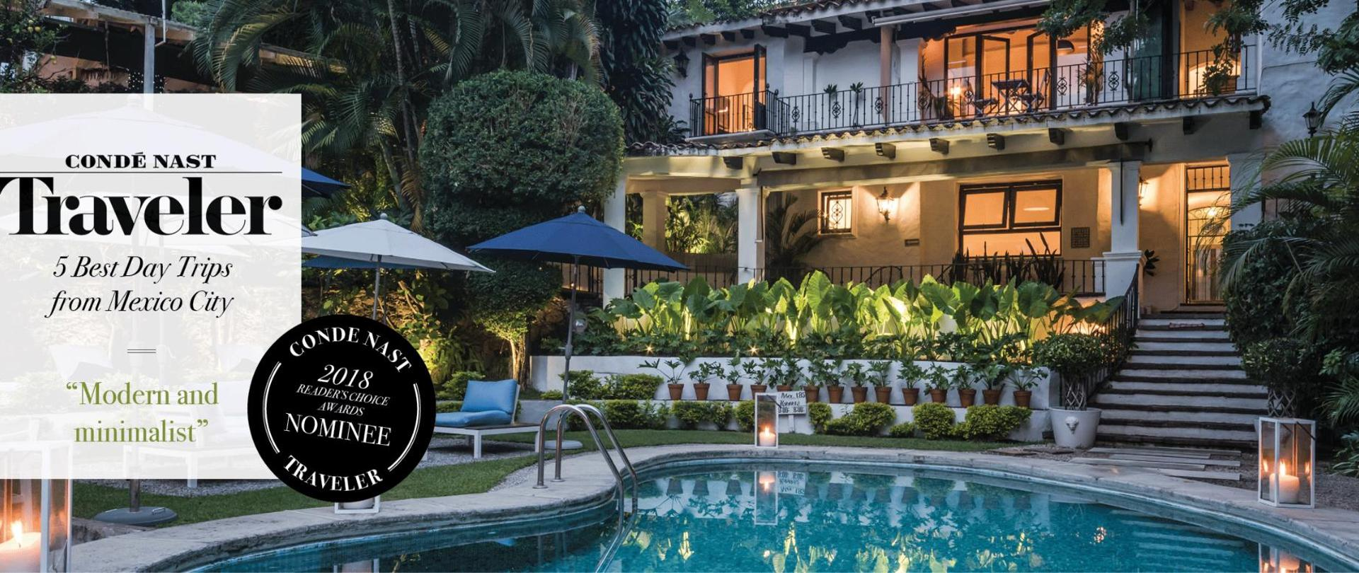 Las Casas b+b, the best bed and breakfast boutique Hotel in Cuernavaca Mexico