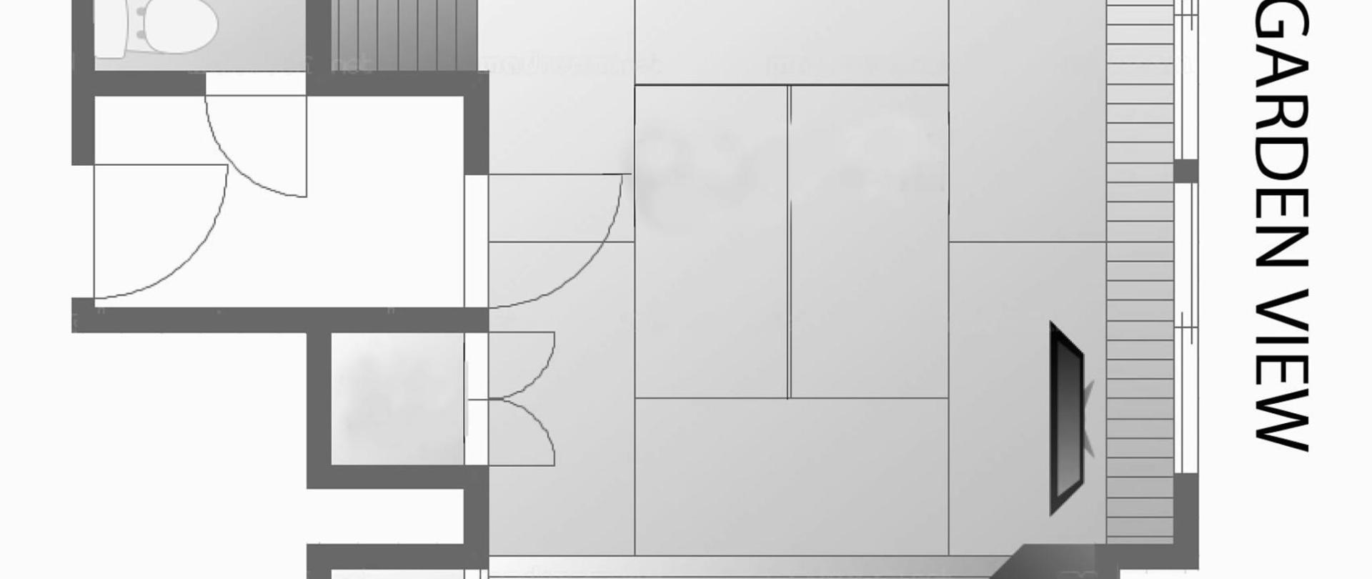 別館8帖+広縁2帖+ユニットバス(二階/景色なし・禁煙)