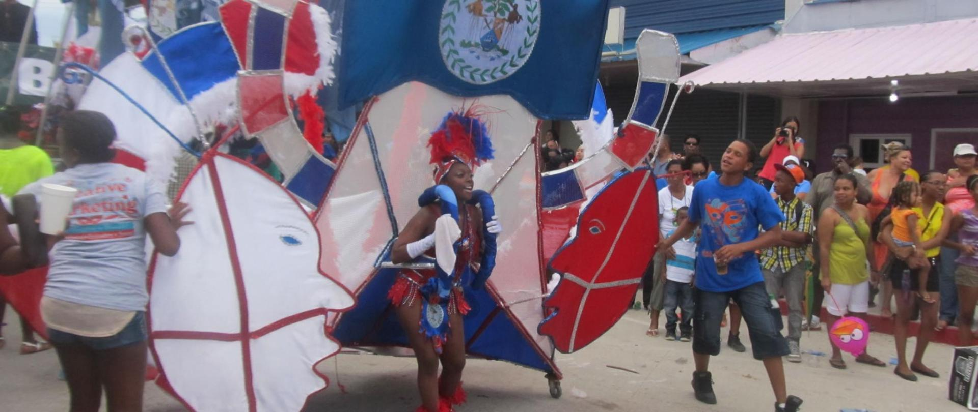 September Celebration - Belize City Carnival Parade