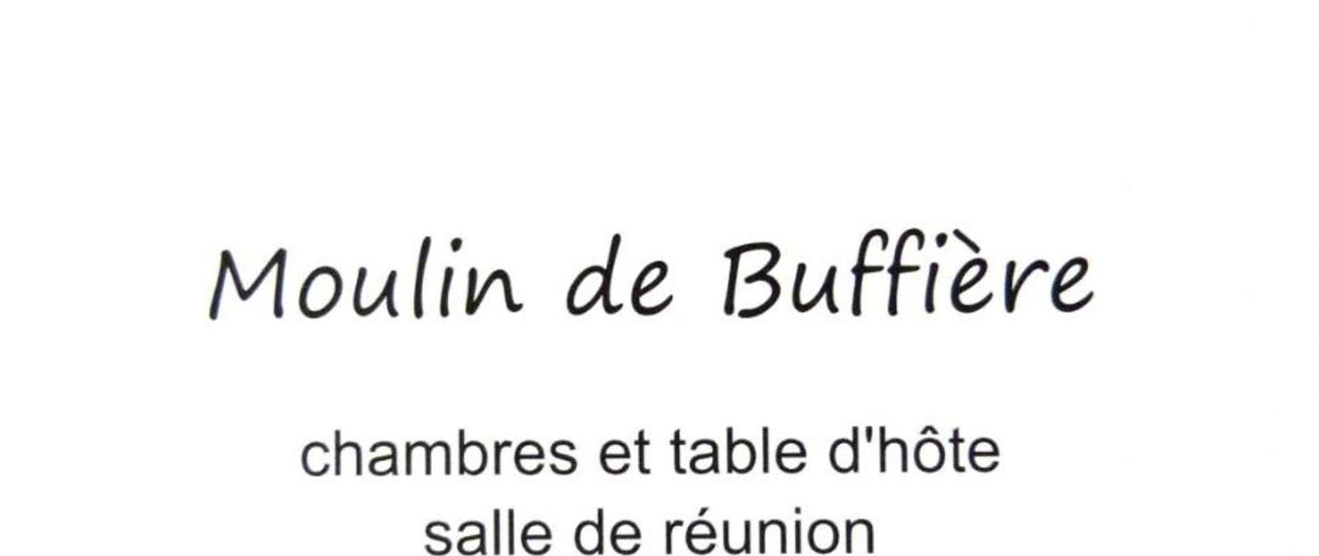 Moulin de Buffière