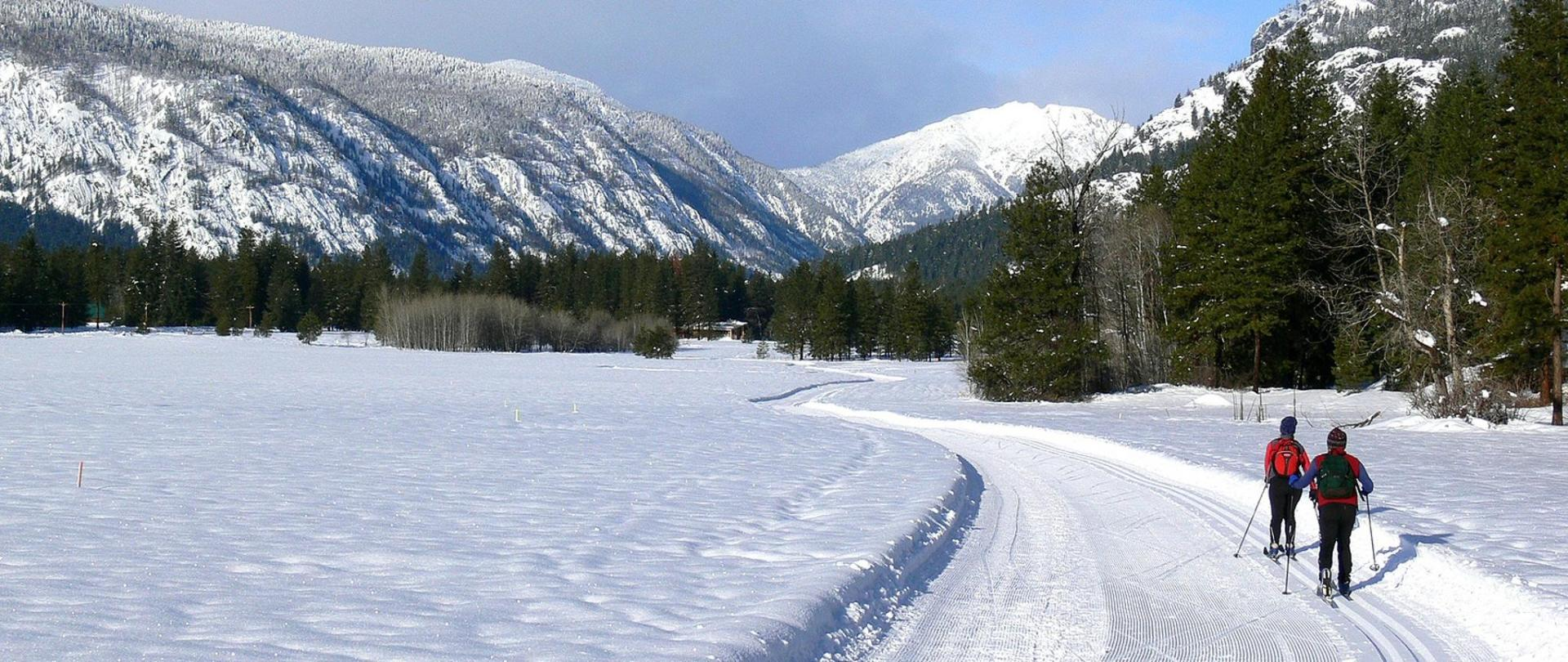 Methow cross country ski trail