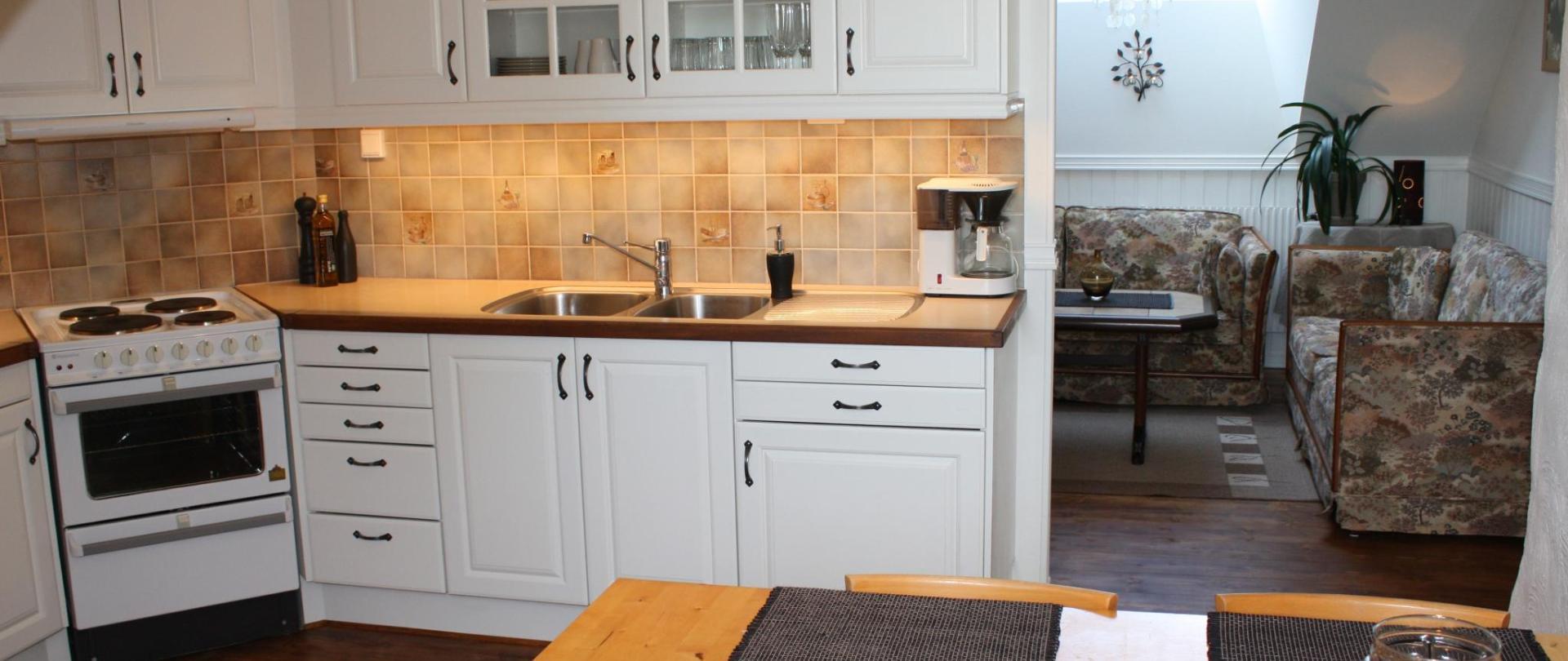 Gällared 710 - Bed & Kitchen